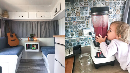 """Featured image for """"Life of a Van Wife – Downsizing and Being Organised in a Caravan"""""""